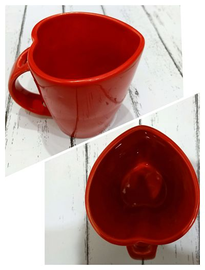 Fancy Heart Shape Mug
